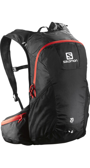 Salomon Trail 20 Backpack Black/Bright Red